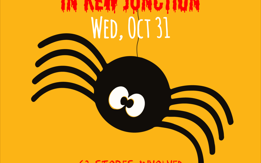 Kew Junction Trick or Treating for Halloween